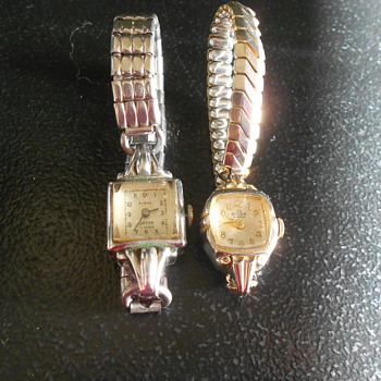 Vintage ladies Swiss Watches - Wristwatches