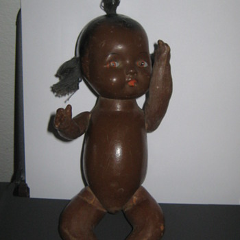 Vintage composition Black Americana baby doll - Dolls