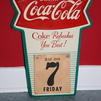 coca cola calendar - Coca-Cola