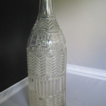 Great embossed design - Bottles