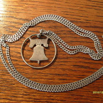 Silver Franklin Half Dollar Necklace - US Coins