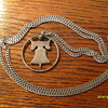 Silver Franklin Half Dollar Necklace