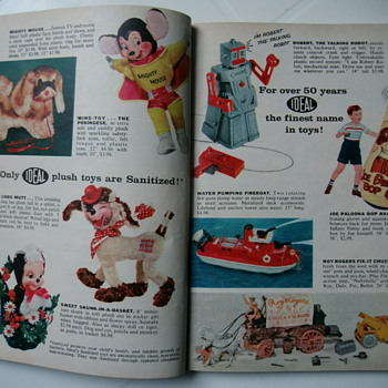 Vintage toys ads pages. - Advertising