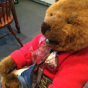 GUND 100 anniversary 1998 bear