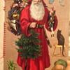 Victorian Christmas scrap book
