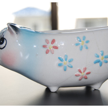 Holt-Howard 1958 Pig Candle Holder