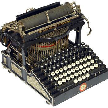 Smith Premier 1 typewriter - 1890 - Office