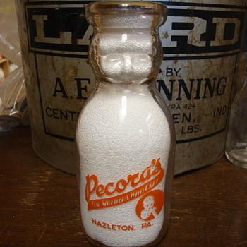 Pecora Dairy Pint Baby Top, Hazelton Pa......................... - Bottles