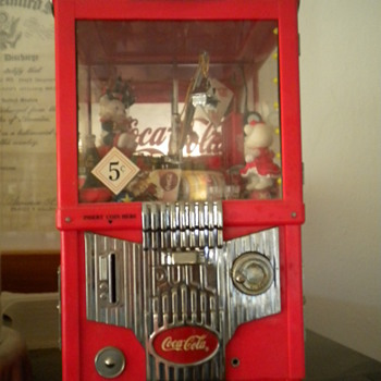 Coca-Cola mechanical  bank - Coin Operated