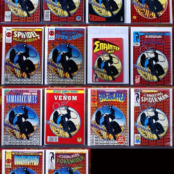 Complete Spiderman 300 foreign collection