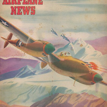 1943 - Model Airplane News magazine - July - Paper