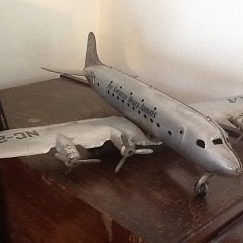 Pan American Airlines model plane - Toys