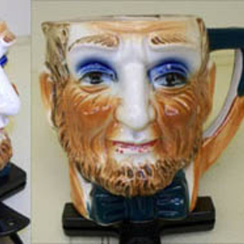 Old character jug.   Lincoln?    Toby jug? 