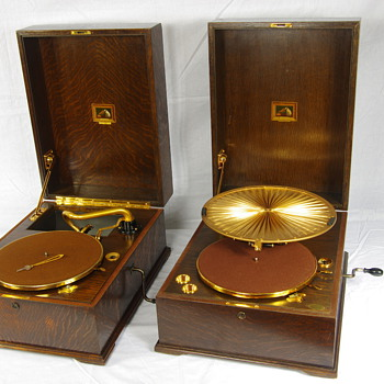 HMV 460 Lumire 1924/25  HMV  461 1926/29