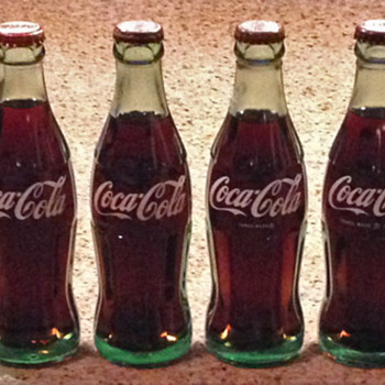 1915-1986 Coca-Cola Bottle Lineup