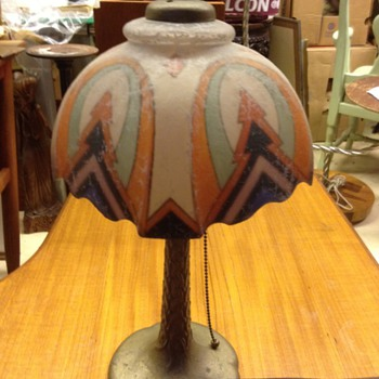 Unusual Handel Table lamp? - Lamps