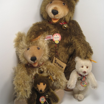 I Love Steiff's Teddy Babies  - Dolls