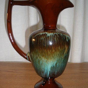 60's Canadian Ceramic Craft Pitcher - Art Pottery
