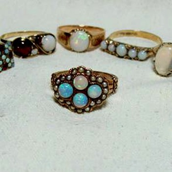 Victorian Opal Rings