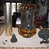 Vintage lrg hanging lamp