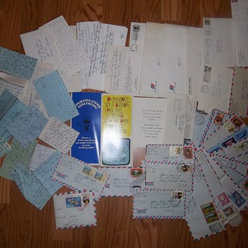 Letters, Wedding invitations, cards, Honduras Stamps 1970s