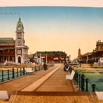 JETTY RD, GLENELG, SOUTH AUSTRALIA c.1912 - Postcards