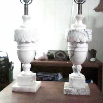 Vintage Table Lamps - Lamps