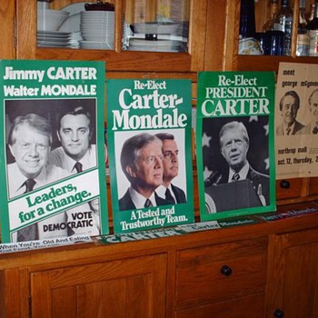 Dukakis, Mondale, Carter, McGovern - Posters and Prints