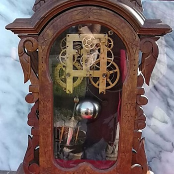 welch vintage clock