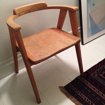 Mid-Century geometric chair - Furniture
