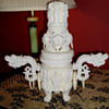 Faux Ivory Incense Censer
