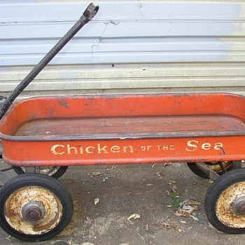 Chicken of the Sea Coaster Wagon