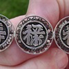 Antique Chinese Silver Brooch