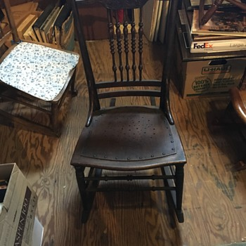 Very old chair- I think from the East Coast - Furniture