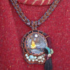 A beadwork statement necklace I helped design