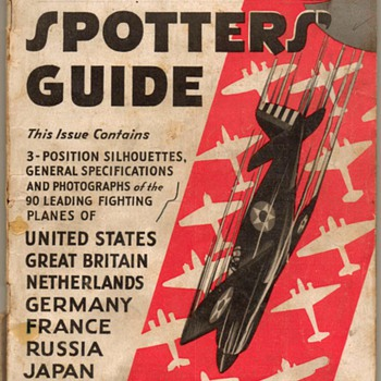 1942 - Aircraft Spotters' Guide - Paper