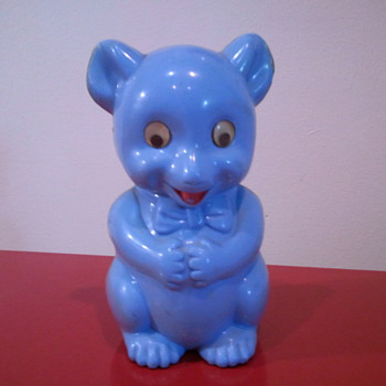 Funny Squirrel Rat Bear Bank - Coin Operated