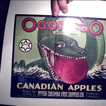 it's an ogopogo - Advertising