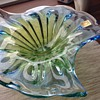 Rubin Glass Bowl Czech Bohemia