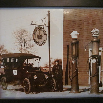 Old gas station pictures... - Photographs