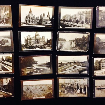 Antique Albumen Print From Negative Tobacco Cards 1880-1910 - Photographs