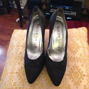 Vintage 1953 Roger Vivier Boule Pumps designed for Actress Marlene Dietrich - Shoes
