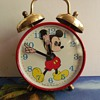 Animated  Moving Eyes Mickey Mouse Alarm Clock