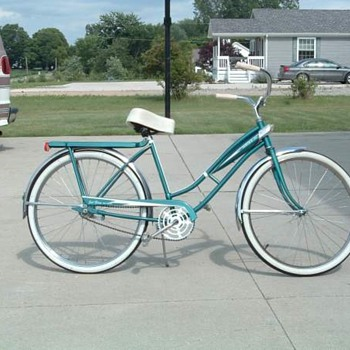 Murray Jet Fire Bicycle