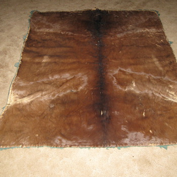 Vintage Horse hair Blanket