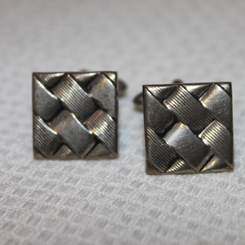 Sterling Silver Cufflinks - Fine Jewelry