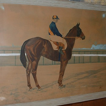 Beautiful Horse Painting - Hemment