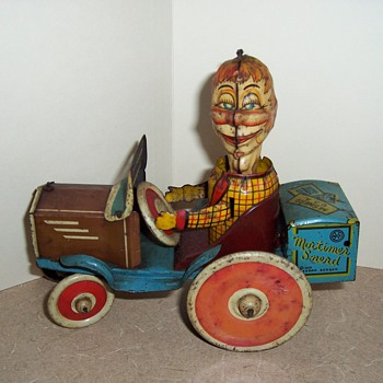 "1930's Marx ""Mortimer Snerd"" Windup Tin Toy - Toys"