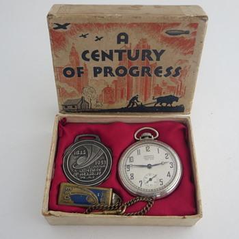 A Century Of Progress International Exposition 1933-1934 - Advertising