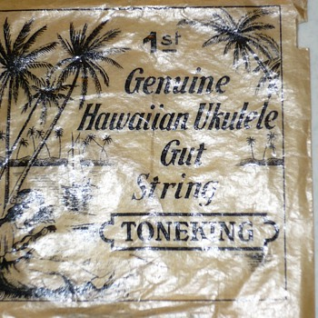 Genuine Hawaiian Ukulele Gut String - Toneking